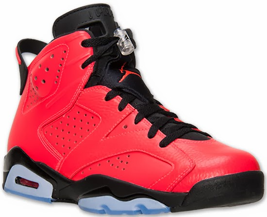 1095e22d2e7 Set to drop alongside the original white/infrared colorway is this new  infrared 23, black and infrared 23 colorway of the Air Jordan 6 Retro.