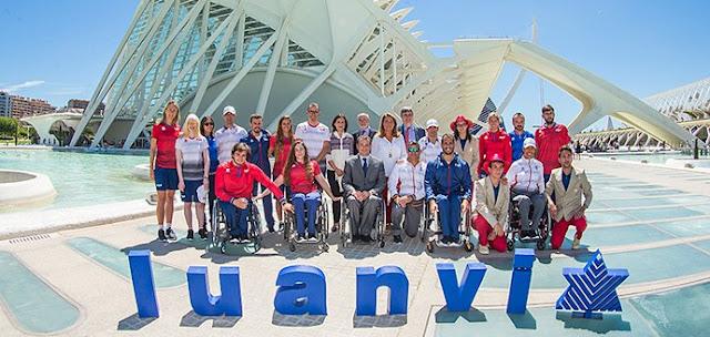 Luanvi presenta los uniformes del Equipo Paralímpico Español