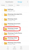 how to hide whatsapp videos