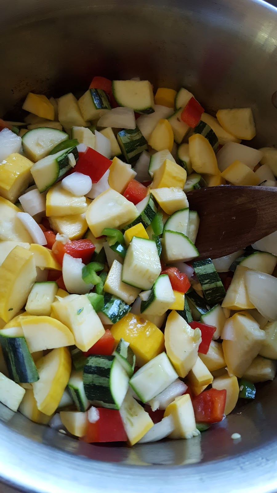 Cooking is Caring: Summer Vegetable Turkey Chili