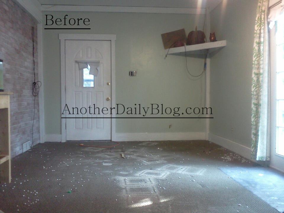 Diy How To Make Plywood Subfloor Look Like Wide Plank Hardwood Flooring