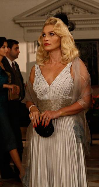 sandra vestido prata de festa