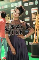 Sanjjanaa Galrani aka Archana Galrani in Maroon Gown beautiful Pics at IIFA Utsavam Awards 2017 61.JPG