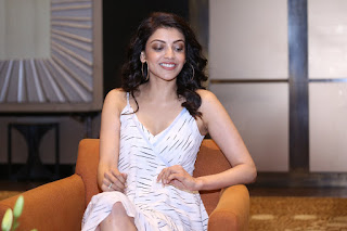 Kajal Agarwal At MLA Movie Promotions Latest Stills