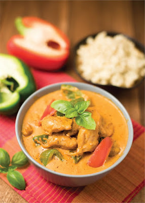 Easy Red Curry Chicken with Rice Recipe