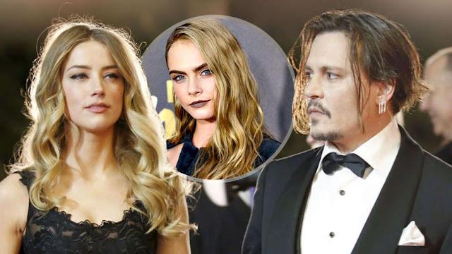 Amber Heard pode ter traído Depp, isso é tão triste!