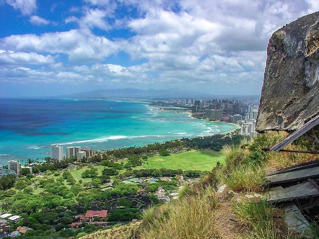 Oahu hiking views