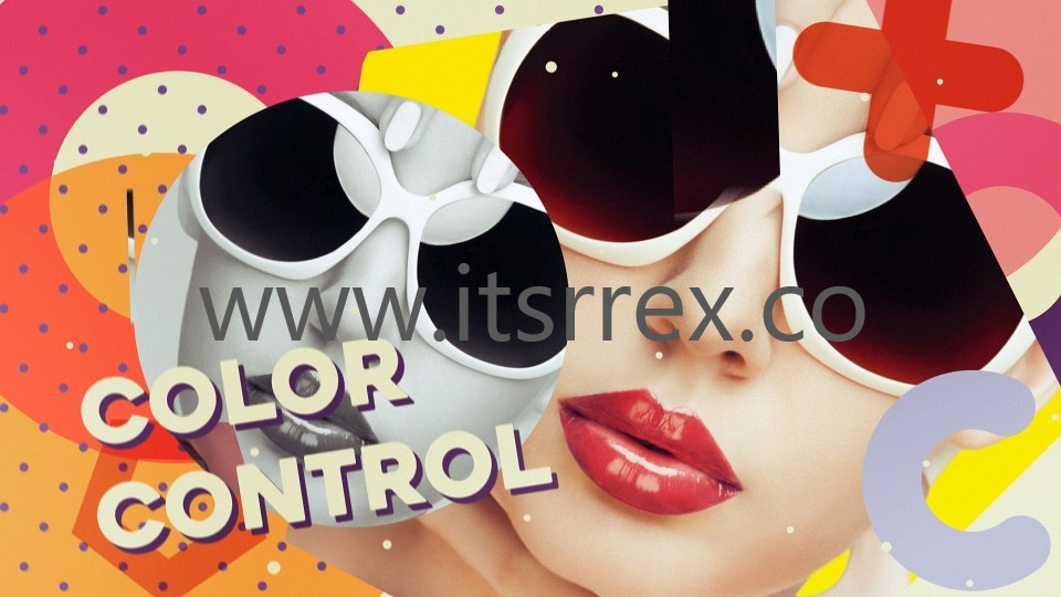 Download Colorful Opener After Effect Template Free