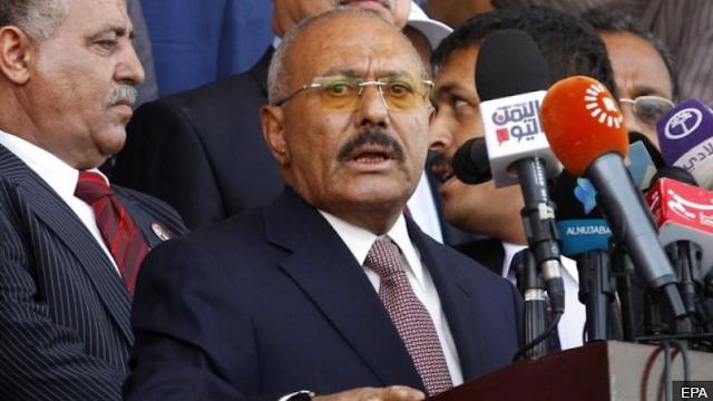 Former Yemen President Ali Abdullah Saleh has been killed on leaving Saudi Arabia