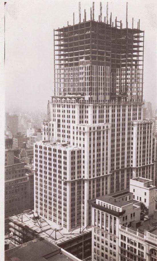 Empire State em construção