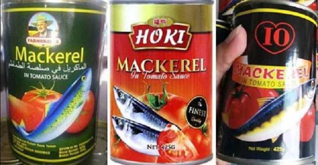 HATI HATI ! 3 Kaleng Sarden Merk Ini Sudah Dilarang Oleh BPOM Karena Mengandung Cacing !