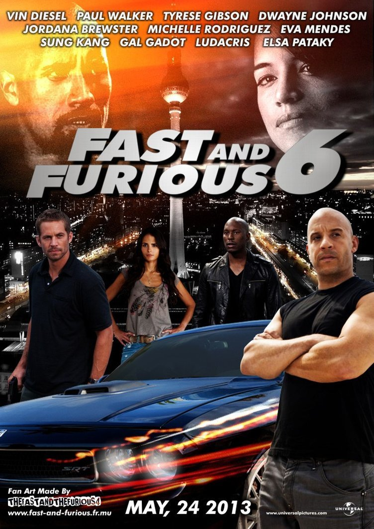 fast  furious 6 free online