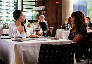 Lucy Liu and Gina Gershon in Elementary