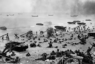Perang Dunia Kedua : Pendaratan Di Omaha Beach I