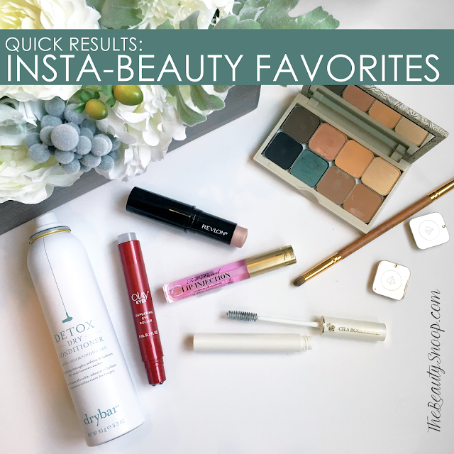 INSTA BEAUTY // FAVORITE  FAST WORKING PRODUCTS
