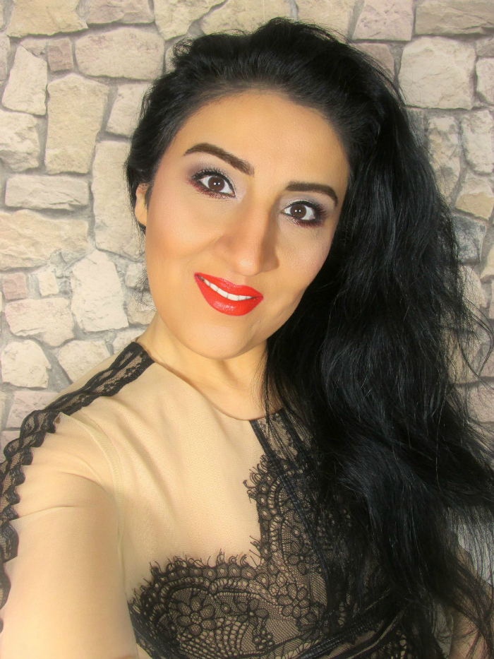 Makeup Look Valentinstag / Valentines Day - YSL, smashbox, Makeup Revolution, Skindinavia, Zoeva, Anastasia Beverly Hills, Sothys, Makeup Factory, Paco Rabanne, Yves Rocher, Physicians Formula, Victoria Jackson