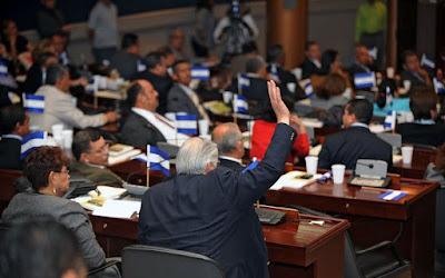 Votación en el Congreso Nacional de Honduras