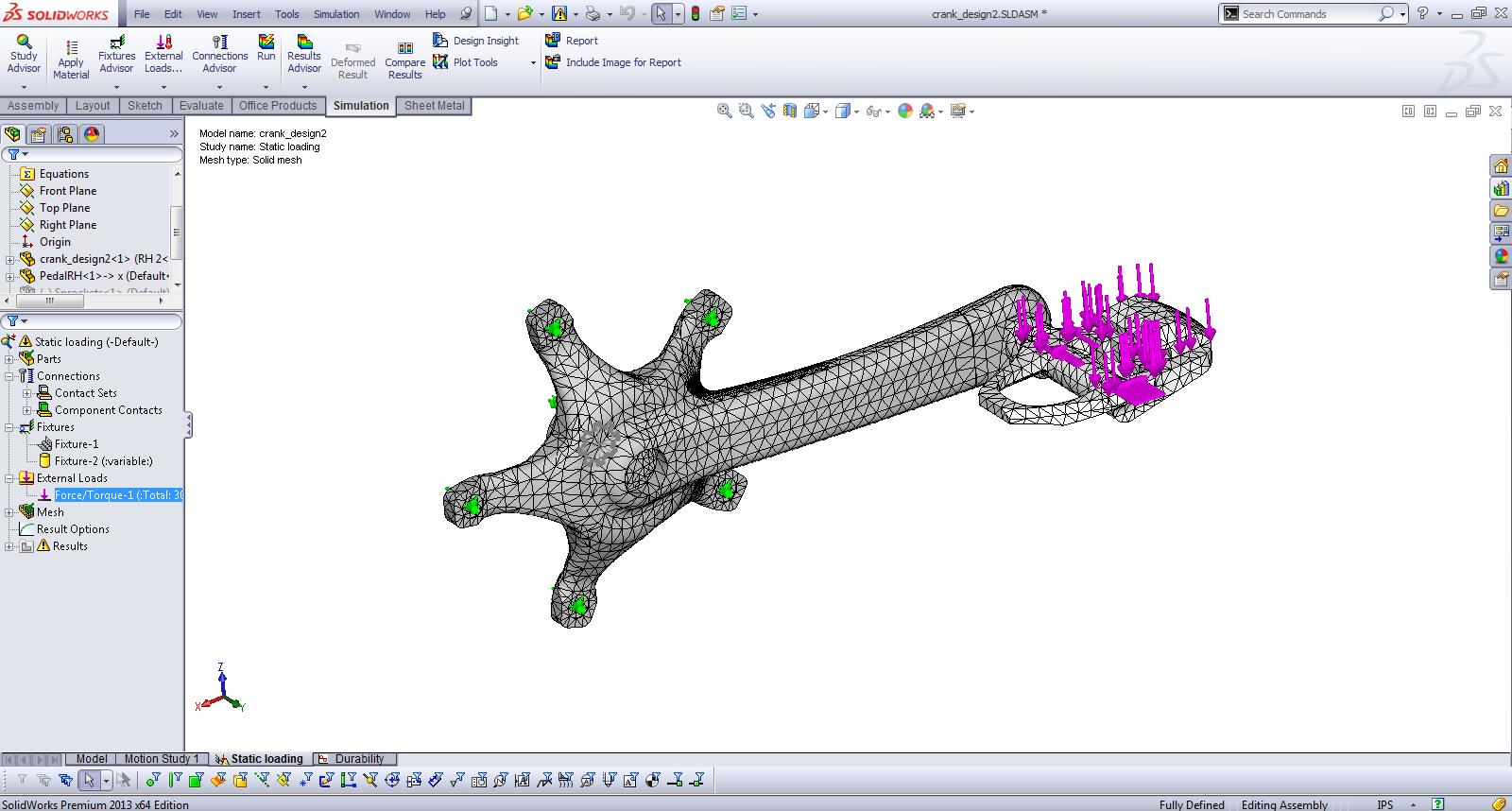 Fatigue Analysis using SolidWorks Simulation | CADVision