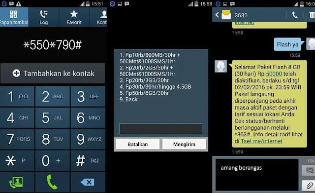 Paket Data 8GB Telkomsel