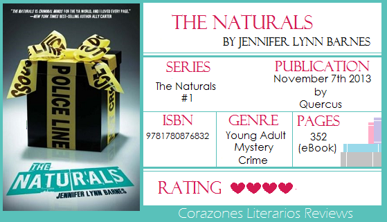 #BookReview: The Naturals by Jennifer Lynn Barnes