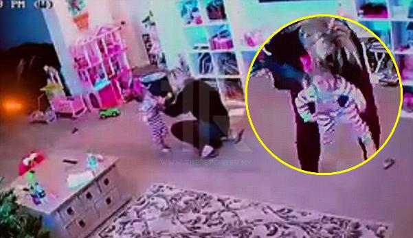Video saat cemas ibu selamatkan anak dari tercekik kerepek sayur