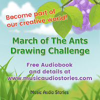 Music Audio Stories - March Drawing Challenge