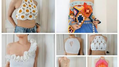 46 Tops de Tcddiy a crochet con tutoriales en vídeo