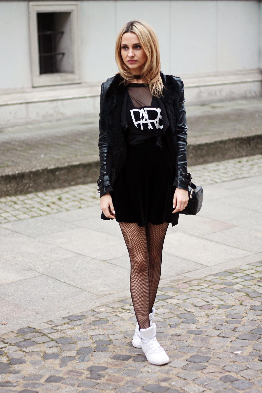 Street Style Legwear Looks Liliconscom - Fashionmylegs -4979