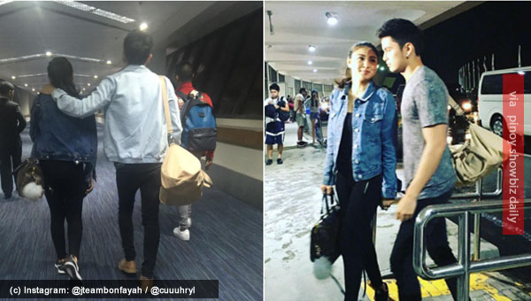 Spotted: James Reid and Nadine Lustre Greece-bound for Till I Met You shoot