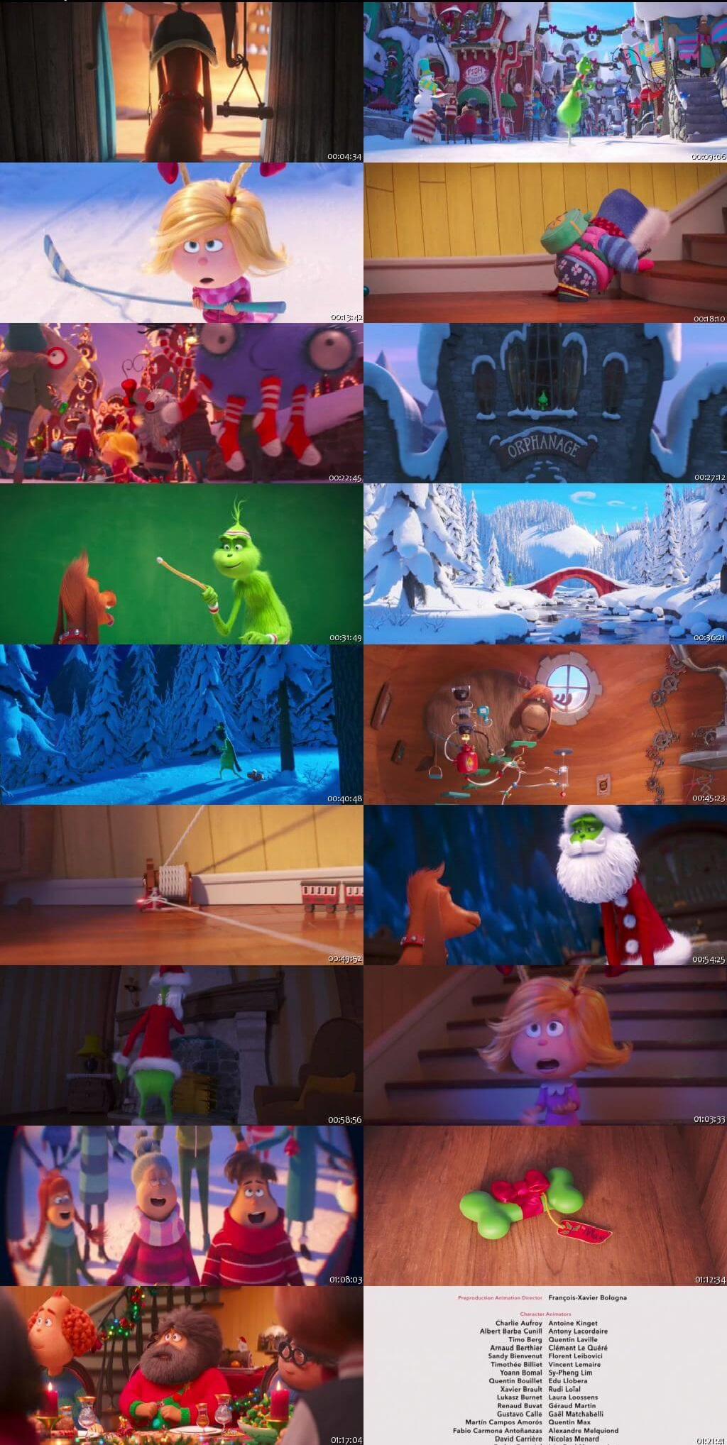 Screen Shot Of The Grinch 2018 Full Movie Download Free Watch Online 300MB
