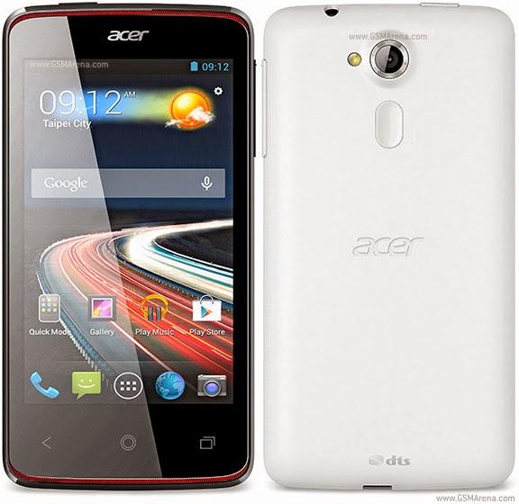 Harga Dan Spesifikasi Smartphone Murah Acer Liquid Z4