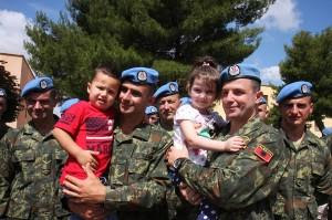 Albanian commandos going to Afghanistan mission