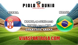 Prediksi Bola Serbia vs Brasil 28 Juni 2018