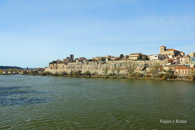 Río Duero, Zamora