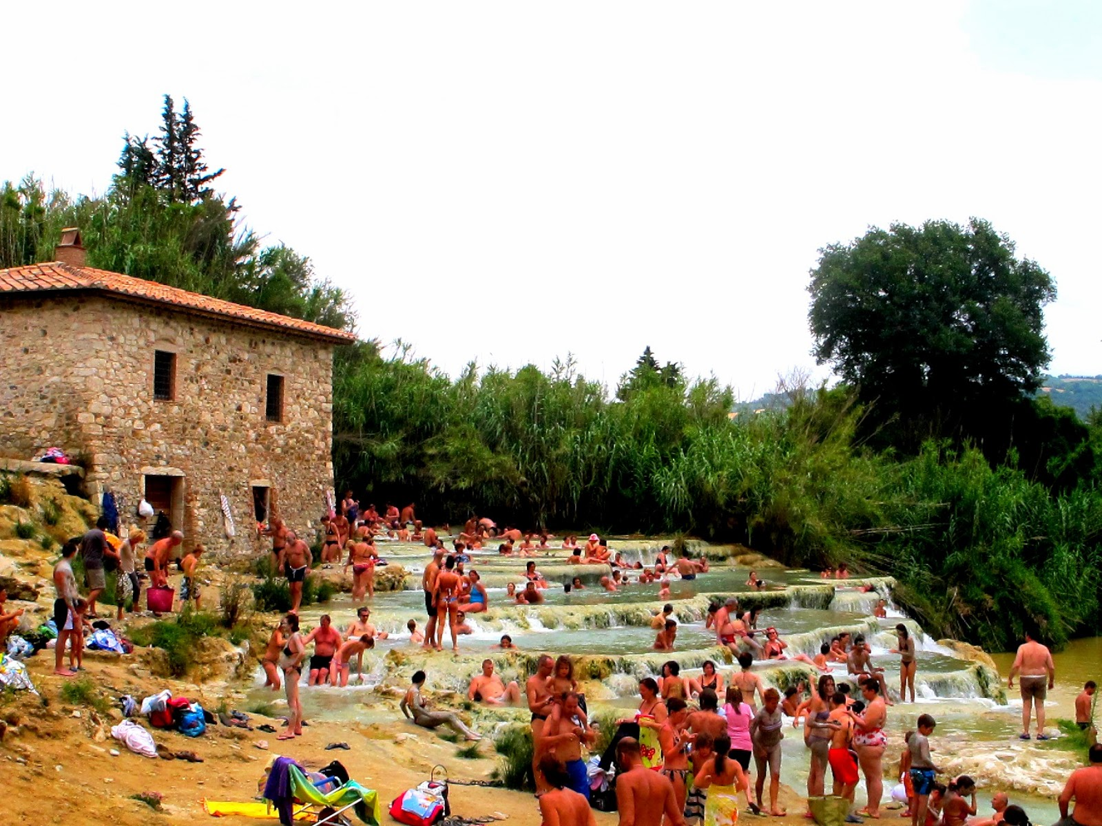 Bagno Vignoni Free Thermal Baths Flavours Of Italy Best Spring Escapes In Italy Tuscany S