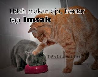 Gambar foto DP Meme lucu Puasa Sahur Ramadhan Terbaru Download akan berlalu