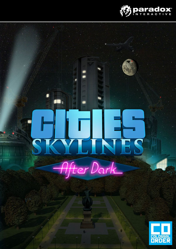 Cities Skylines After Dark Download Cover Free Game
