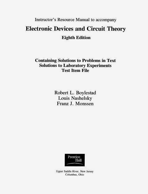 microelectronic circuits and devices 2nd edition solution manual