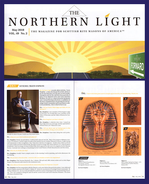 The Northern Light. Interview with Travis Simpkins. Scottish Rite, NMJ