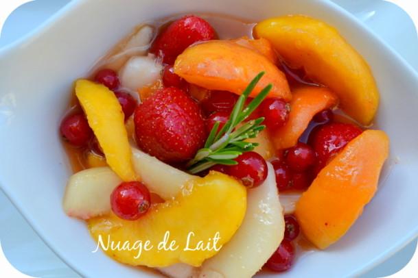 Maigrir avec la m thode montignac phase 1 menu du d ner - Salade de fruits maison ...