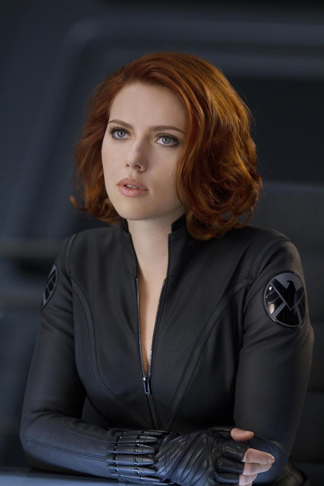 Scarlett Johansson as Black Widow Avengers (2012, Marvel)
