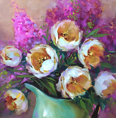 http://www.nancymedina.com/available-paintings/light-seeker-white-tulips