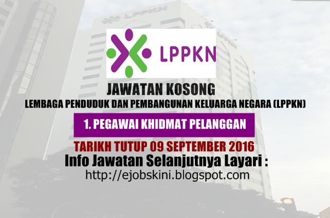 Jawatan kosong di lppkn september 2016