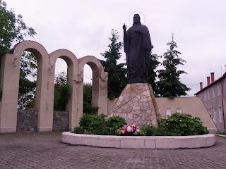 Ходорів. Скульптура Іісуса Христа