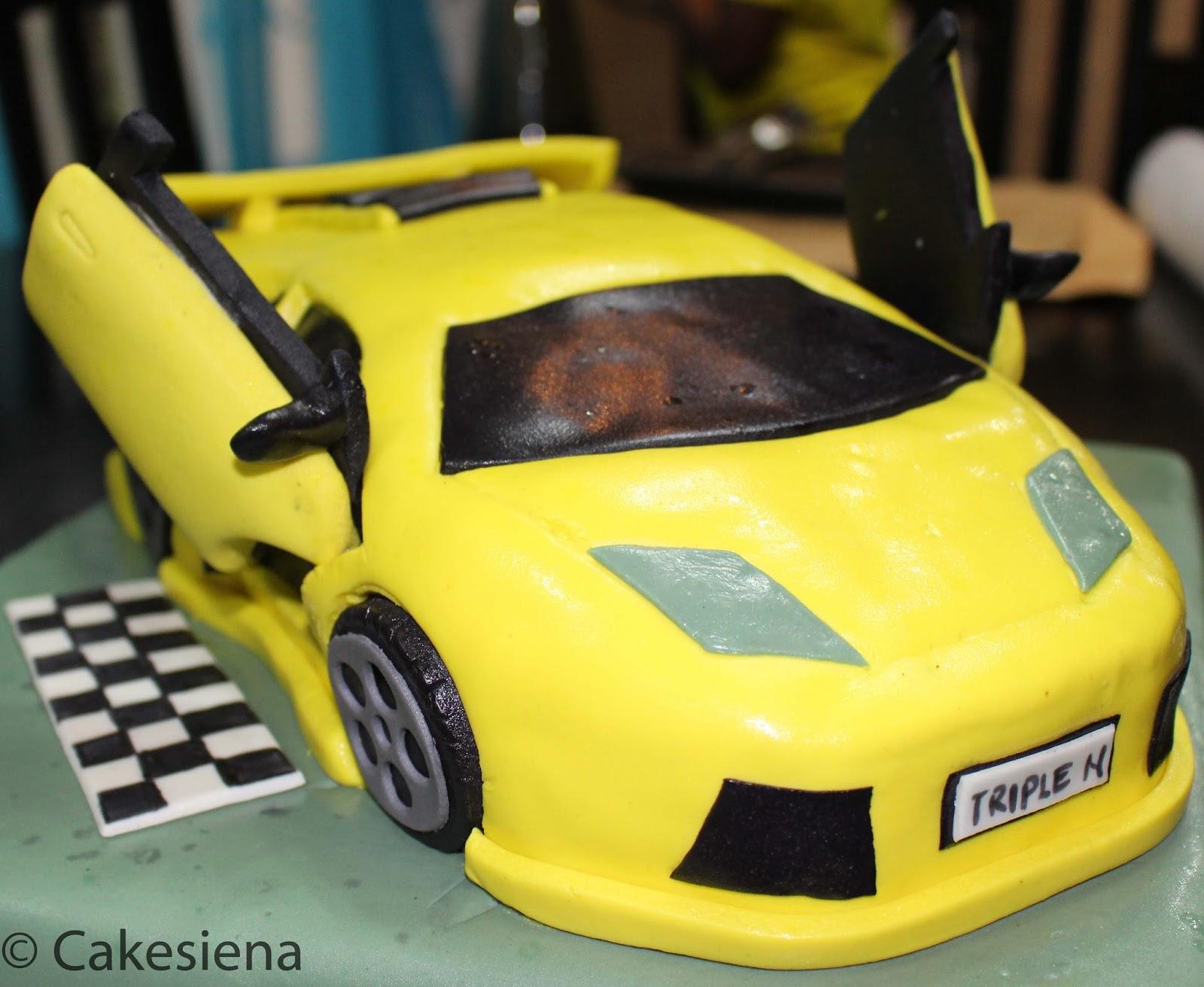 Cake Factory Lamborghini Cake