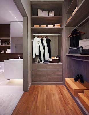 Sky Vue Bishan - Walk in Wardrobe