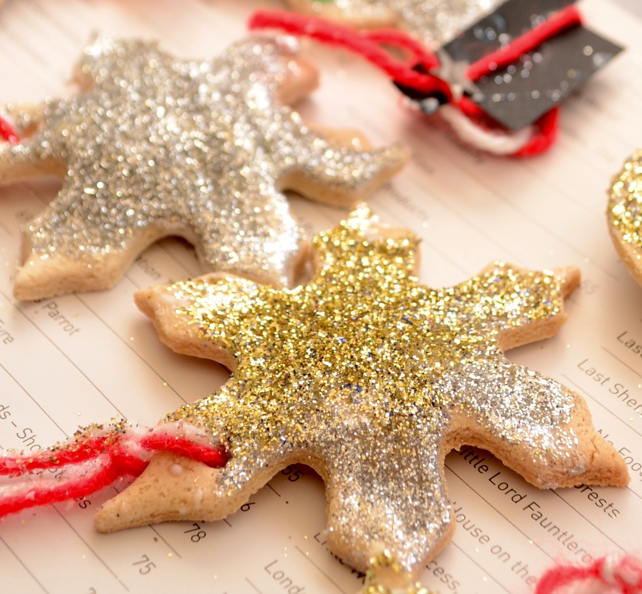 DIY Christmas Gifts: Salt Dough Ornaments, Make a little something, for someone you love
