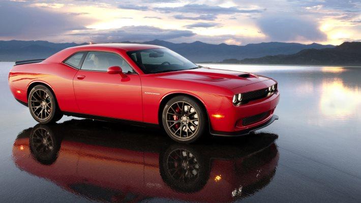 Wallpaper 4: Dodge Challenger SRT Hellcat 2015