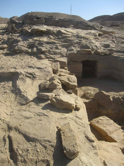 New tombs discovered at Gebel Al-Silsila area in Aswan