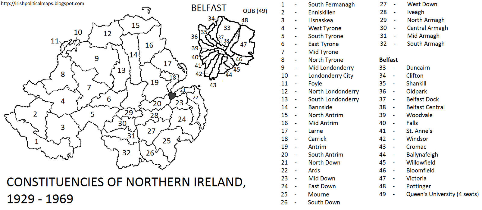 12. S Northern ireland troubles to 2011 |Gerrymandering Northern Ireland